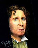 The 8th Doctor by MikesStarArt