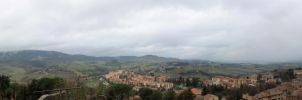 San Gimignano Panoramic by MoPotter