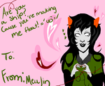 Ask MEULIN!(Valentines Card) by papstels