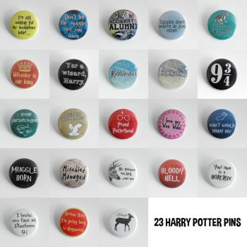 Harry Potter - Complete Set by MonsterBrandCrafts