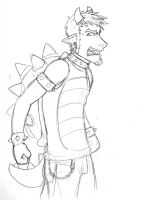 Bowser!Tyre by Lost-in-Legends