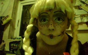 Halloween make up by alicecorley