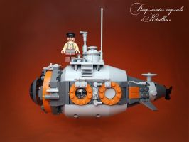 LEGO. Deep-water capsule KTULHU by DwalinF