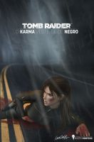 FANFIC COVER - KARMA WEARS BLACK by MartimMonteiro