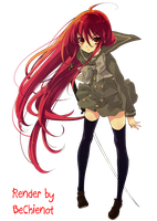 Shana Render by BeChienot