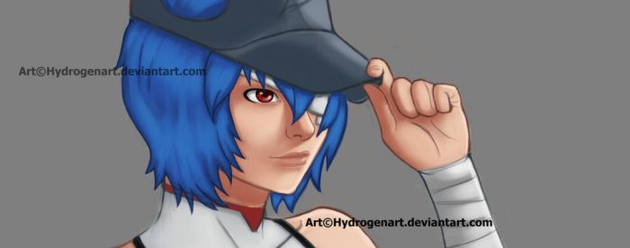 Rei Ayanami - Preview by Hydrogen-Art