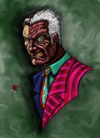 Two-Face redux - painting by BigRobot