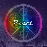 PEACE by rainbowwave