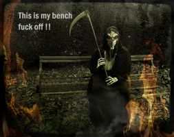 The Grim Reapers Bench by Estruda