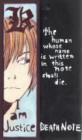 Light Yagami Bookmark by InvitationToIllusion