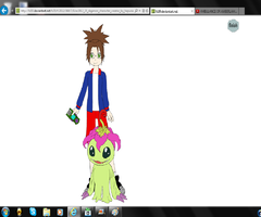 Myself In Digimon by accailia118