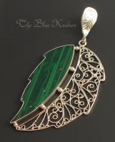 filigree leaf by thebluekraken