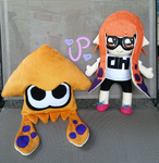 Splatoon Inkling Plushies FOR SALE by UltraPancake
