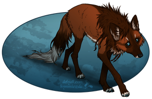 Maned Wolf by Hymnsie