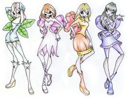 Buttons WINX by SquishySQ