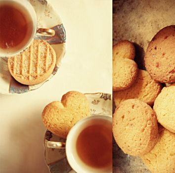 Stay, and drink some tea by ByLaauraa