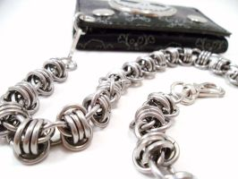 Chainmail Wallet Chainmail Stainless Steel Bar by SerenityinChains