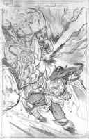 Hulk 5 cover pencils by EdMcGuinness