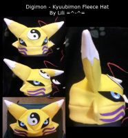 Kyuubimon Fleece Hat by LiliNeko