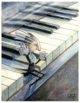 The Piano Tuner by Musical-Wolf