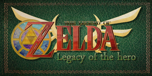 Legacy of the hero Logo by Legacy-of-the-hero
