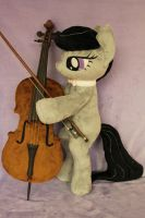 Octavia with her Cello by WhiteDove-Creations
