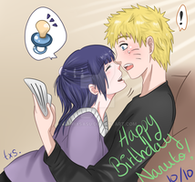 NaruHina - a surprise for your birthday by tchiixsasu