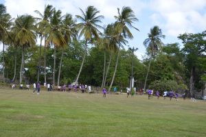 Soccer game to Esplanade La Savane by A1Z2E3R