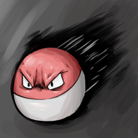 voltorb betchhhh~~!!! by danny-spikes