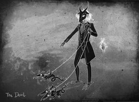 ETHEREAL iPad Game Concept Art - Devil character by agasparetti