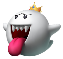 King Boo Render by SuperFlash1980