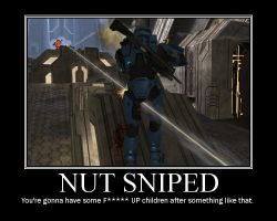 Nut Sniped MP by Redpyramidhead