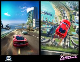 Asphalt Overdrive : City Day by Asahisuperdry