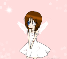 .: Little Angel :. for Hayley by xXtehxpockyxqueenxX
