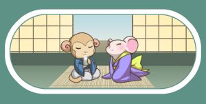 Mouse + Monkey by Lapres