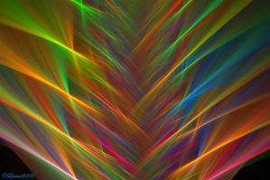 Bright Weave Wallpaper by Colliemom