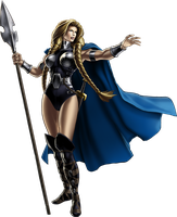 Marvel Avengers Alliance Valkyrie by ratatrampa87