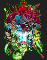 3ndgam3clu5t3rfuck - homestuck shirt contest entry by BabaKinkin