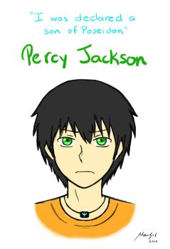 Percy Jackson by MariChanX3