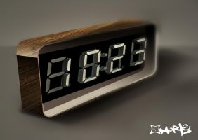 X-trude Alarm Clock by aMorle