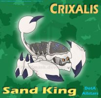 Crixalis, the Sand King by KrlosKmask