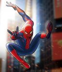The Amazing Spider-Man (Color) by FredtheDinosaurman