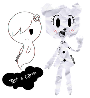 Teri and Carrie by JesuRaidy