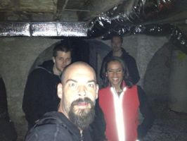 Aaron,Lindsey,Billy,and Nick by MJandGhostAdventures