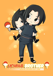 Uchiha Brothers by vcdfre