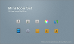 Mini Icon Set by shlyapnikova