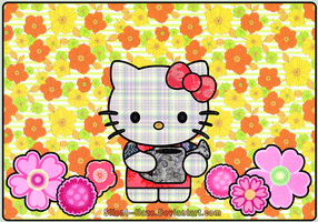 Hello Kitty :: Patchwork by Silent--Haze