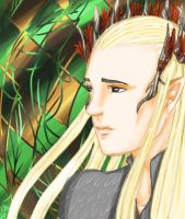 LotR/H: Forest King by Houkakyou