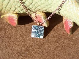 Autumn Leaves Pendant by tobilou
