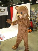 Pedobear Cosplay by Peepsicle